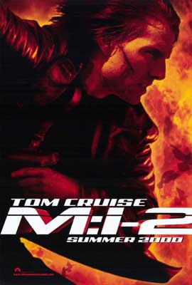 Mission: Impossible 2 - 11 x 17 Movie Poster - Style B