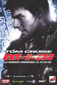 Mission: Impossible III - 47 x 62 Movie Poster - French Style B