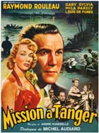 Mission in Tangier - 11 x 17 Movie Poster - French Style A