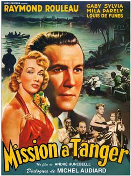 Mission in Tangier - 27 x 40 Movie Poster - French Style A