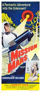 Mission Mars - 14 x 36 Movie Poster - Insert Style B