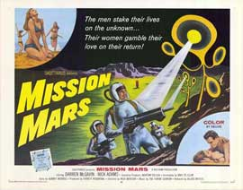 Mission Mars - 22 x 28 Movie Poster - Half Sheet Style A