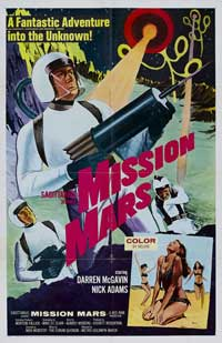Mission Mars - 11 x 17 Movie Poster - Style A