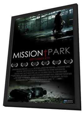Mission Park - 11 x 17 Movie Poster - Style A - in Deluxe Wood Frame
