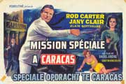 Mission to Caracas - 11 x 17 Movie Poster - Belgian Style A