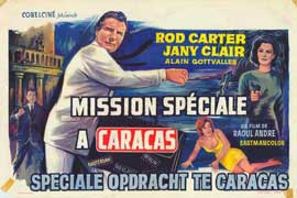 Mission to Caracas - 27 x 40 Movie Poster - Belgian Style A