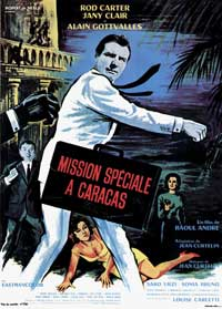 Mission to Caracas - 11 x 17 Movie Poster - French Style A