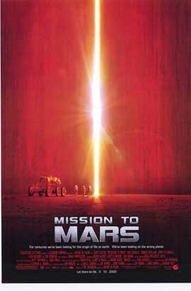 Mission to Mars - 27 x 40 Movie Poster - Style B