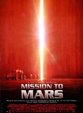 Mission to Mars - 27 x 40 Movie Poster - French Style A