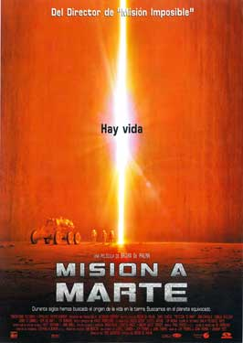Mission to Mars - 43 x 62 Movie Poster - Spanish Style A