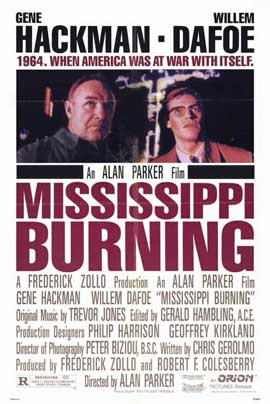 Mississippi Burning - 11 x 17 Movie Poster - Style B