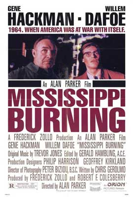 Mississippi Burning - 27 x 40 Movie Poster - Style A