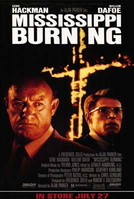 Mississippi Burning - 27 x 40 Movie Poster - Style B
