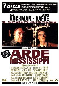 Mississippi Burning - 11 x 17 Movie Poster - Spanish Style A