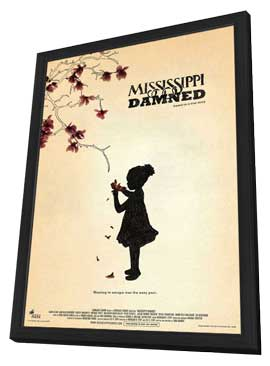 Mississippi Damned - 11 x 17 Movie Poster - Style A - in Deluxe Wood Frame