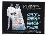 Mississippi Mermaid - 22 x 28 Movie Poster - Half Sheet Style A