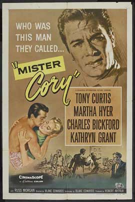 Mister Cory - 27 x 40 Movie Poster - Style A