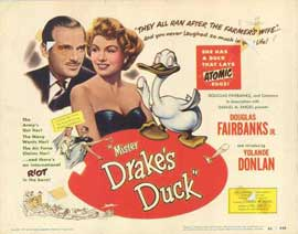 Mister Drake's Duck - 11 x 14 Movie Poster - Style A