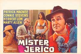 Mister Jerico - 11 x 17 Movie Poster - Belgian Style A