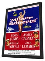 Mister Roberts - 11 x 17 Movie Poster - Style A - in Deluxe Wood Frame