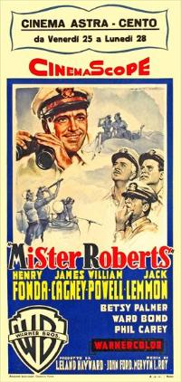 Mister Roberts - 13 x 28 Movie Poster - Italian Style A
