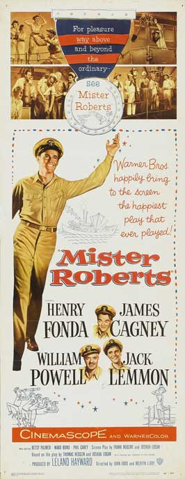 Mister Roberts - 14 x 36 Movie Poster - Insert Style A