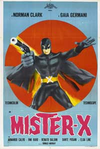 Mister X - 11 x 17 Movie Poster - Spanish Style A