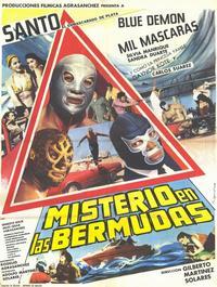 Misterio en las Bermudas - 11 x 17 Movie Poster - Spanish Style A