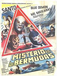 Misterio en las Bermudas - 27 x 40 Movie Poster - Spanish Style A