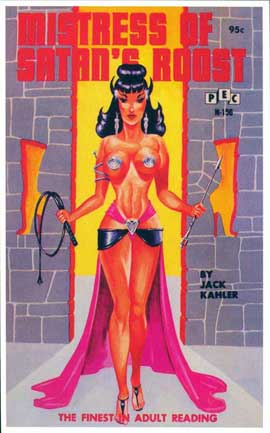 Mistress of Satan's Roost - 11 x 17 Retro Book Cover Poster