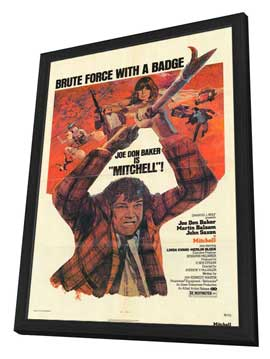 Mitchell - 27 x 40 Movie Poster - Style A - in Deluxe Wood Frame
