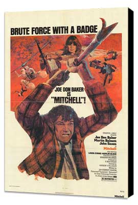 Mitchell - 27 x 40 Movie Poster - Style A - Museum Wrapped Canvas