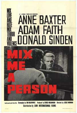 Mix Me a Person - 11 x 17 Movie Poster - Style A