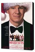 Mixed Nuts - 11 x 17 Movie Poster - Style A - Museum Wrapped Canvas