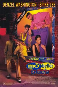 Mo' Better Blues - 11 x 17 Movie Poster - Style B