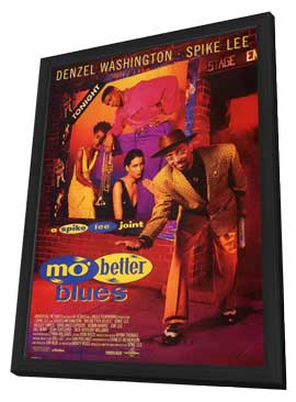 Mo' Better Blues - 11 x 17 Movie Poster - Style C - in Deluxe Wood Frame