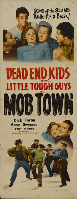 Mob Town - 14 x 36 Movie Poster - Insert Style A