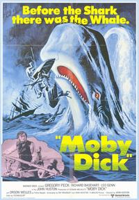 Moby Dick - 43 x 62 Movie Poster - Bus Shelter Style A