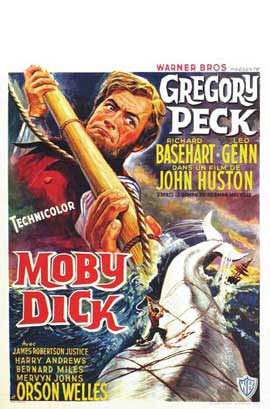 Moby Dick - 11 x 17 Movie Poster - Belgian Style B