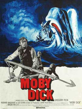 Moby Dick - 11 x 17 Movie Poster - French Style A