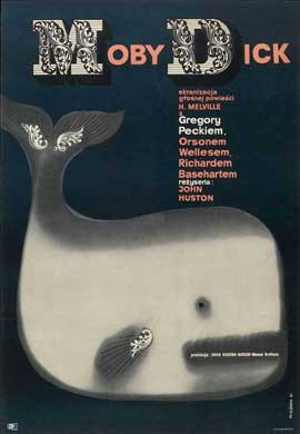 Moby Dick - 11 x 17 Movie Poster - Polish Style A