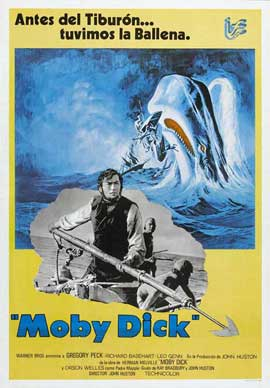 Moby Dick - 11 x 17 Movie Poster - Spanish Style B