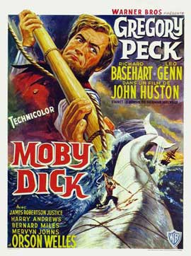 Moby Dick - 11 x 17 Movie Poster - Belgian Style C