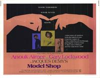 Model Shop - 11 x 14 Movie Poster - Style A