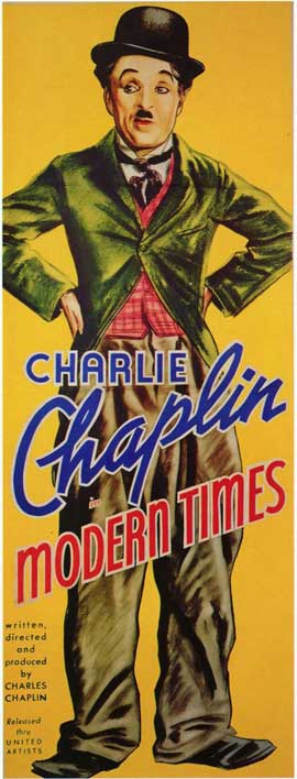 Modern Times - 14 x 36 Movie Poster - Insert Style A