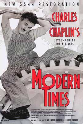 Modern Times - 27 x 40 Movie Poster - Style A