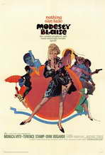 Modesty Blaise - 27 x 40 Movie Poster - Style A