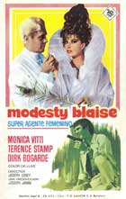 Modesty Blaise - 27 x 40 Movie Poster - Spanish Style A