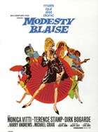 Modesty Blaise - 11 x 17 Movie Poster - French Style A