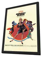 Modesty Blaise - 27 x 40 Movie Poster - Style A - in Deluxe Wood Frame